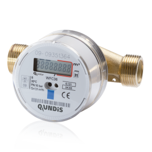 Electronic screw-type water meter Q water WFC36